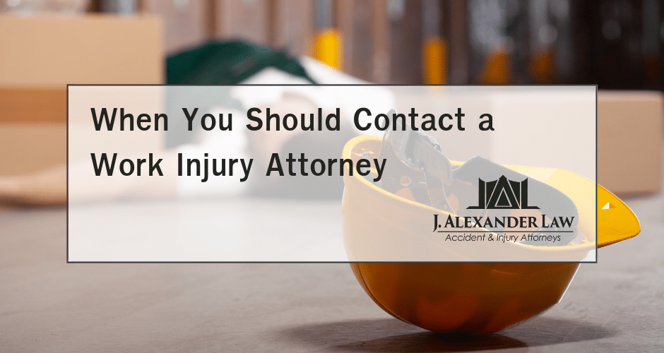 Work Injury Attorney - J. Alexander Law Firm