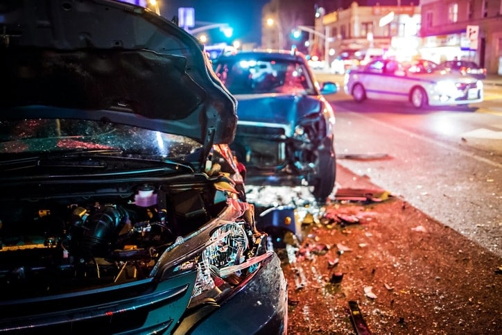 Drunk Driving Accident Injury Law